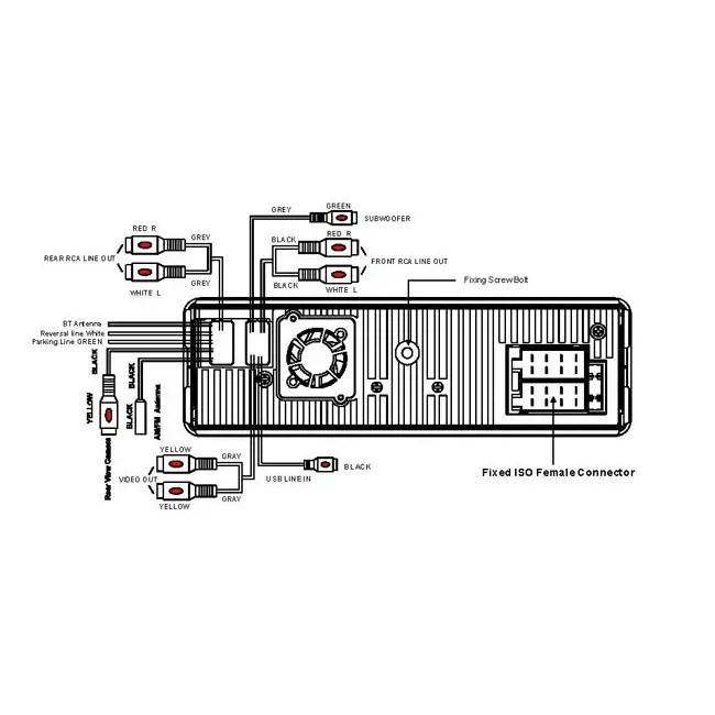 Boss BV7948B 3.6-Inch CD/DVD/MP3 Player with Usb/sd Bluetooth