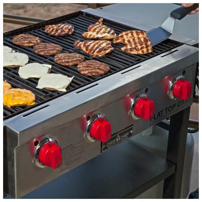 Camp Chef 600Square Inch Outdoor Propane Gas Flat Top
