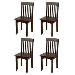 Kidkraft Avalon Chair Wedding Covers And Sashes To Buy Chairs Four Pack Espresso 4 X 16650