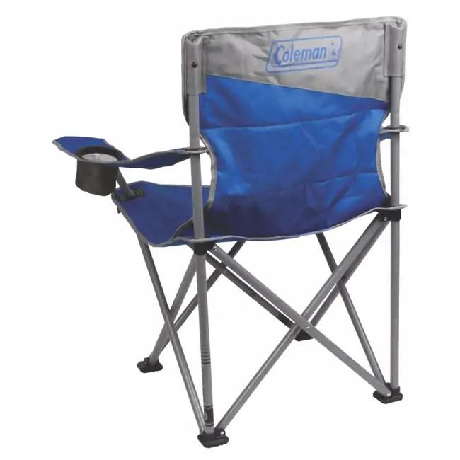Coleman BigNTall Oversized Quad Chair Blue  2000026491