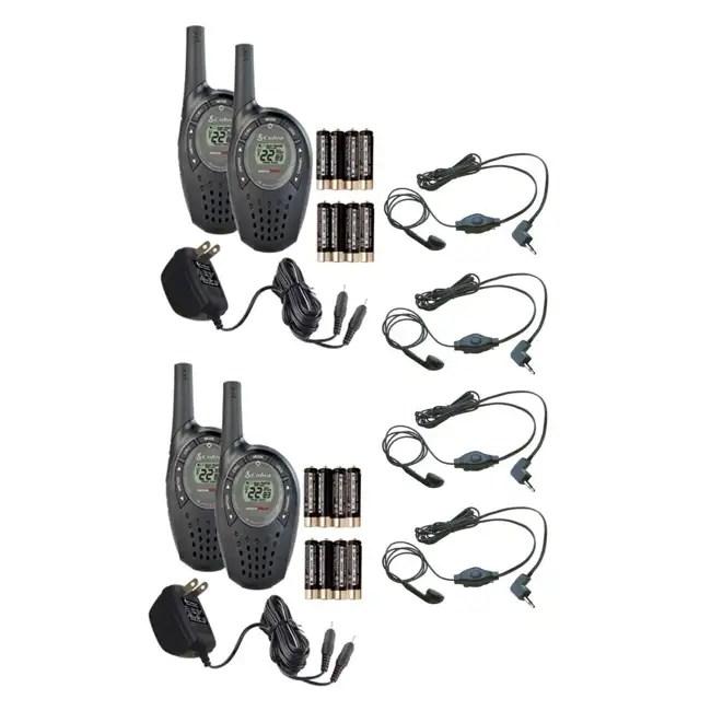 Cobra CXT90 18 Mile MicroTalk LCD Walkie Talkie 2-Way