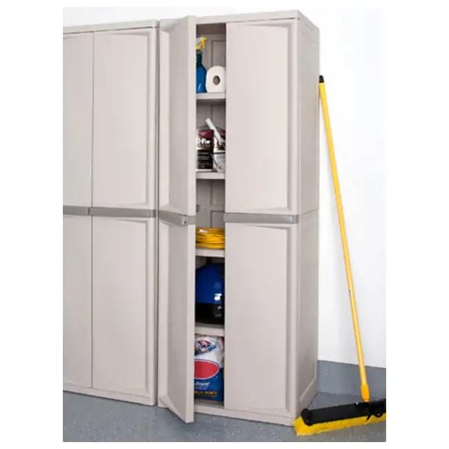 Sterilite 4Shelf Cabinet  01428501
