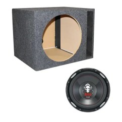Dual Voice Coil Subwoofer Box 2 Gang Cooker Switch Wiring Diagram Boss P156dvc 15 Inch 2500w Phantom With Ported Enclosure Qsbass15