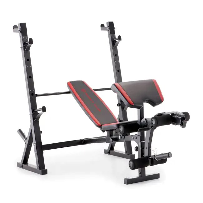 Marcy Deluxe Olympic Weight Bench Mkb 957