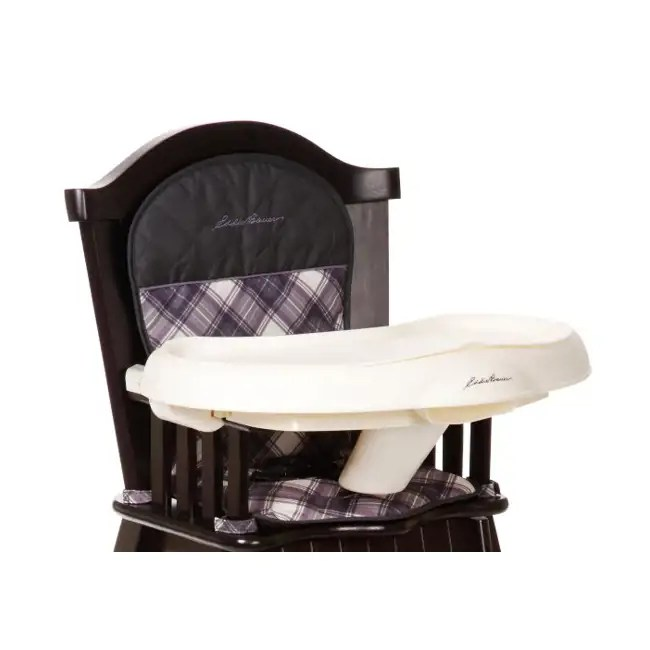 Eddie Bauer Classic Wood High Chair  Brooke  HC091BCD