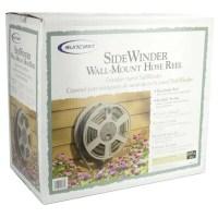 Suncast SWA100 100 Ft. Wall Mount Garden Hose Reel Side ...