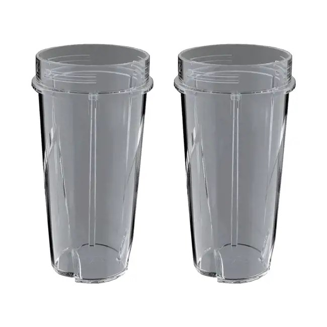 ninja kitchen system pulse movable island 16 ounce nutri blender replacement cup 2 pack 199kku
