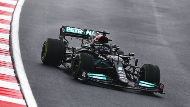 Mercedes pace in TURKEY new CAUTION for Pink Bull?