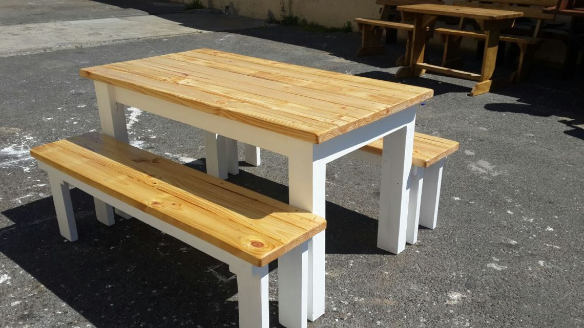 Wooden Table Benches For Sale