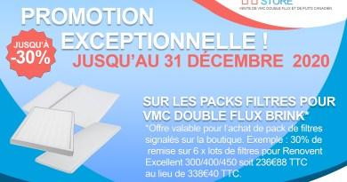 promotion filtre vmc double flux