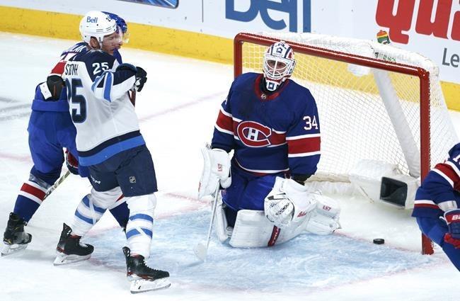 Pierre-Luc Dubois scores overtime winner as Winnipeg Jets ...