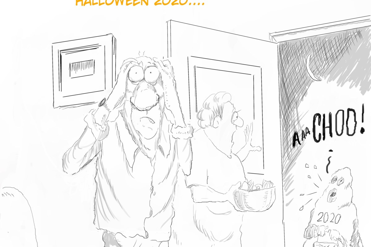 Sunday Funny: Halloween had a different feel this year