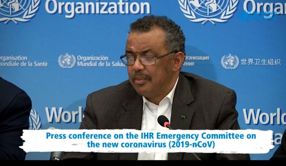 WHO declares coronavirus a global emergency - Sudbury.com