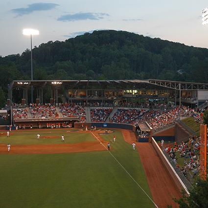 University of Virginia Baseball Stadium at Davenport Field