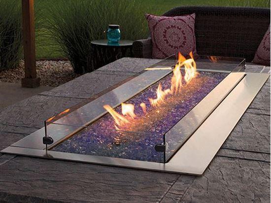 Linear Fire Pit