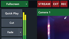 Simultaneous Streaming, Recording, and Output