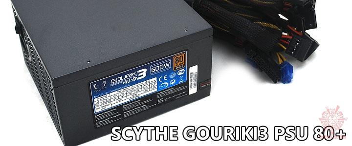 main SCYTHE GOURIKI 3 80+ Bronze 600W PSU