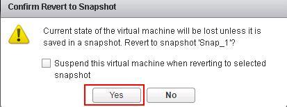 Reverting VMware Snapshots_6