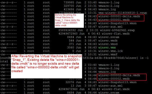 Revert to VMware Snapshot