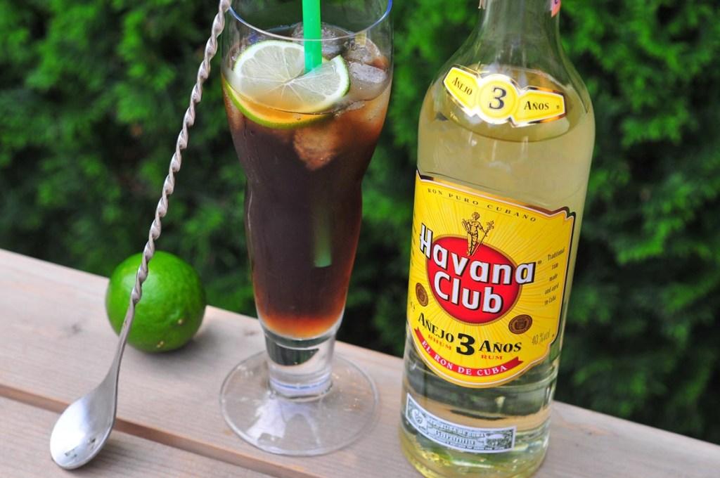 kokteil cuba libre rum