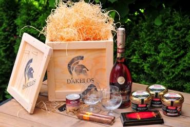 darčeková debna s páčidlom dakelos