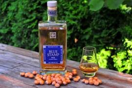 rum blue stamp orechy