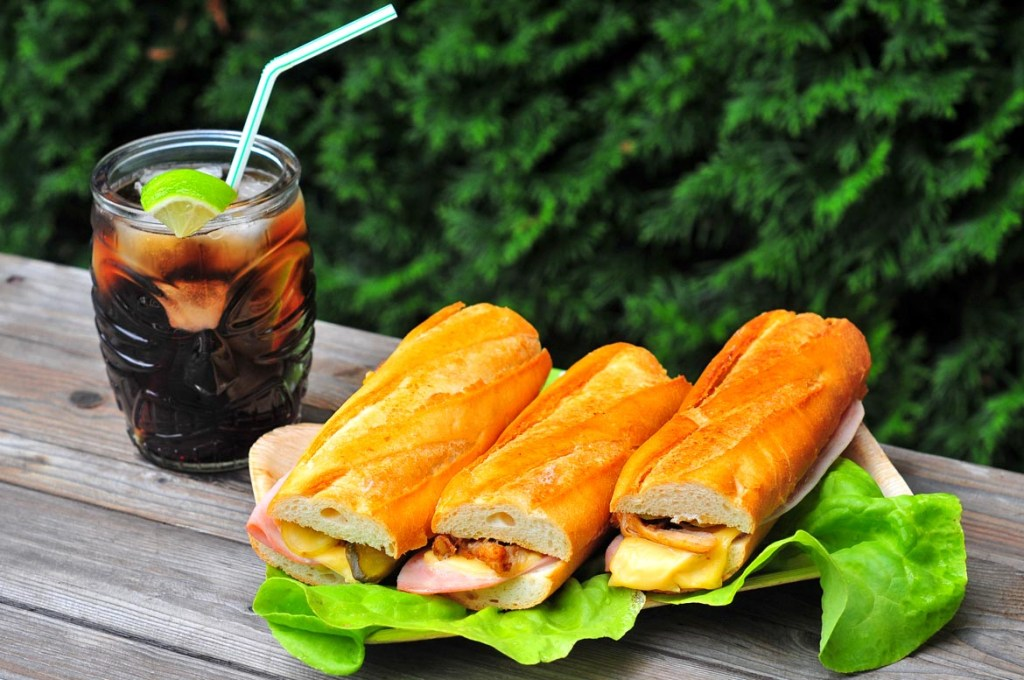 kubánsky sendvič gril
