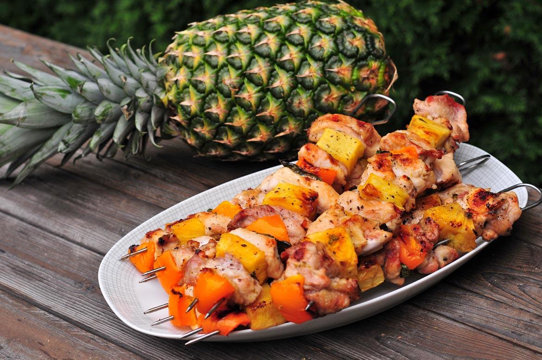 ananás ekvádorské kura na ihlách