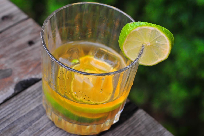 Ti punch rumový kokteil