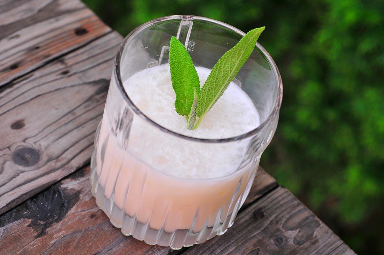 Coconut ice Daiquiri rumový miešaný drink
