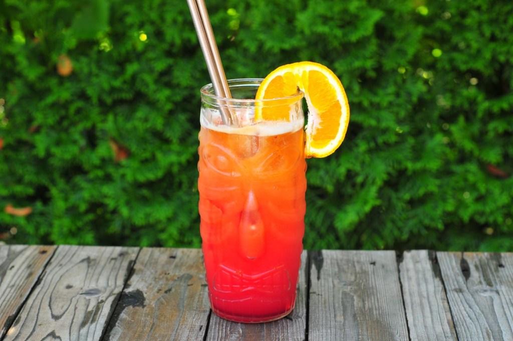 planteur rumový miešaný drink