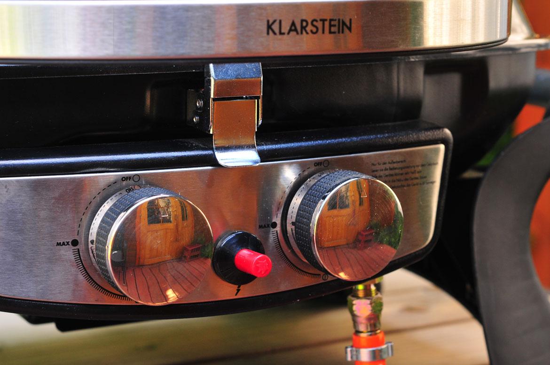 plynový gril Klarstein Parforce Duo