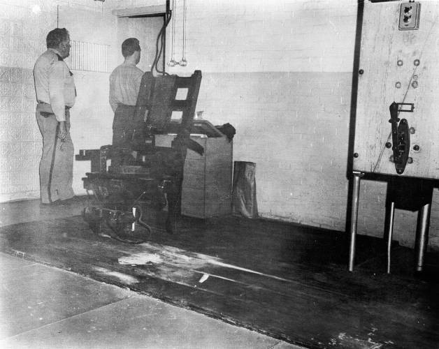 execution by electric chair marlin fishing valley news - vermont historical society stores windsor state prison's