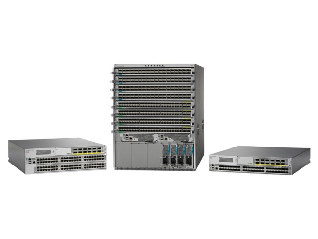 Cisco Nexus 9000 model range