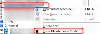 cisco ucs firmware upgrade maintenance mode