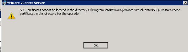 vCenter Server installation Step 3