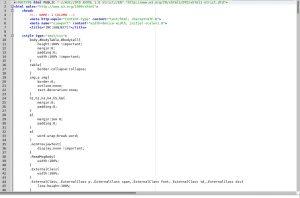 MailChimp Modify Line Spacing • VNTWeb