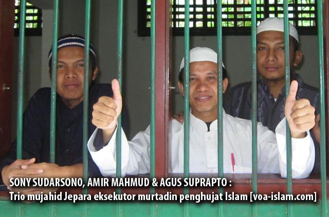 Allahu Akbar!!! Trio Mujahid Jepara Eksekusi Murtadin Penghujat Islam
