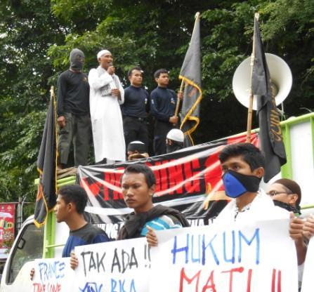 Ummat Islam Solo Marah, Pancung Penghina Nabi Muhammad!