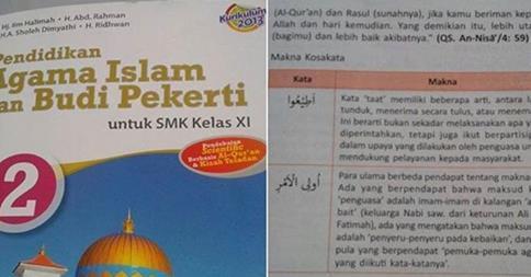 Diduga Kuat Sebarkan Paham Syi'ah , Penerbit Erlangga Diminta Segera Menarik Bukunya