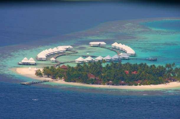 Maldivas hotel aereo 1