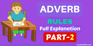8 Important Adverb Rules With Example Sentences Part-2