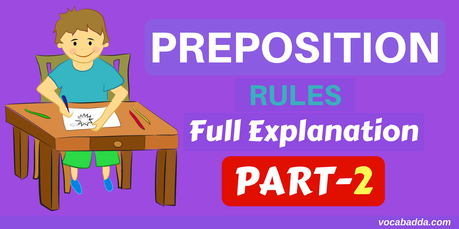 Preposition Rules