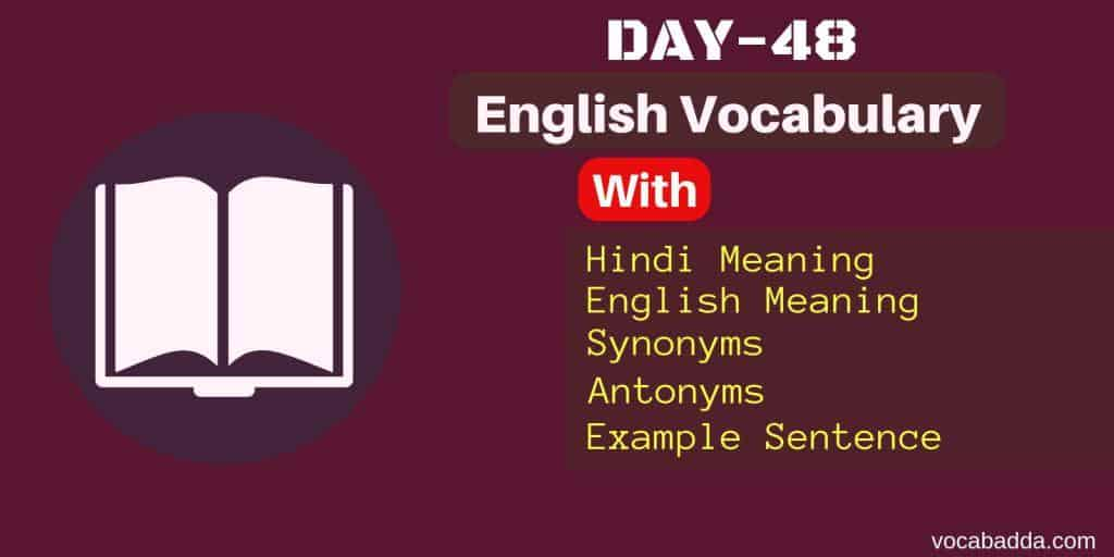 Important English word Day-48