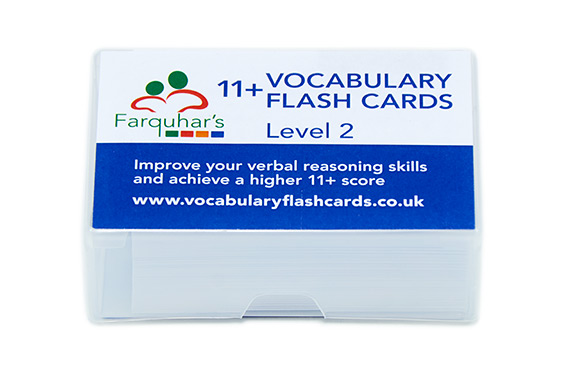 Farquhars Vocabulary Flash Cards