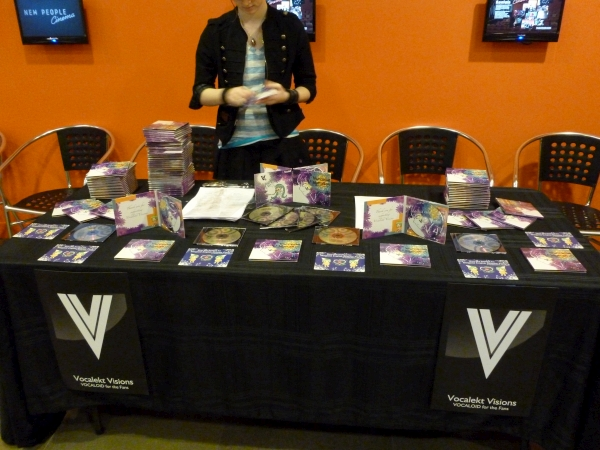 Vocalekt Visions' sales booth