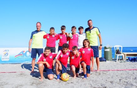 La squadra SIT BEACH SOCCER ACADEMY ROMA