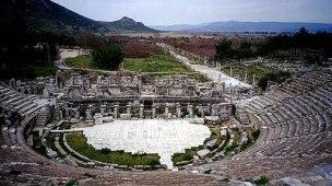 Ruinas do Teatro de Éfeso