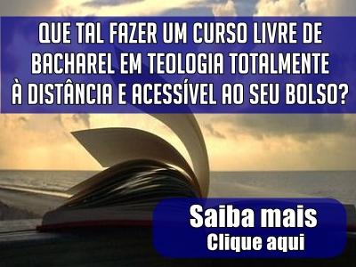 Seja Bacharel em Teologia!