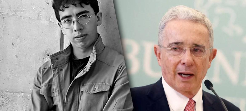 Diego Aretz y Álvaro Uribe